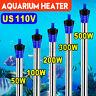 50W-500W 110V Aquarium Submersible Heater Fast Heated For Fish Tank Fresh Water