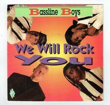 """BASSLINE BOYS Vinyle 45T 7"""" WE WILL ROCK YOU - JUST FOR FUN - TREMA 410524"""