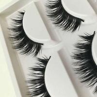 5 Pairs Makeup Beauty False Eyelashes Eye Lashes Long Natural Handmade Extension