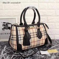 Authentic Burberry Glodstone Black Military Handbag Shoulder Bag New