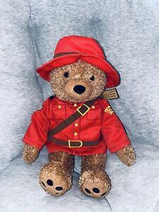 "15"" Paddington Bear by Stuffed Animal House Red Jacket Plush Doll You Kids"