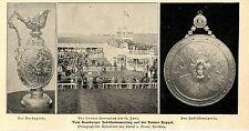 Jubiläumsmeeting Hamburg  Der Horner Rennplatz am 15.Juni *  Bilddokument 1902