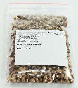 MS20470AD4-2 Rivet / Universalniet - Legierung 2117 per 100 Gramm mit CoC