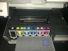 HP Photosmart C8180 All-in-One Color Inkjet Printer Built-in CD/DVD Extra INk