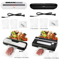 Commercial Food Vacuum Sealer Machine Kitchen Storage System 10 Food Vacuum Bags