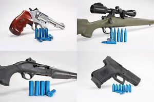 (BULK) A-Zoom Blue Value Pack Metal Snap Caps for Handgun, Rifle, or Shotgun