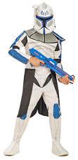 "Blue clonetrooper ""capitán Rex"" disfraz para niños blanco azul Star Wars Clone Wars"