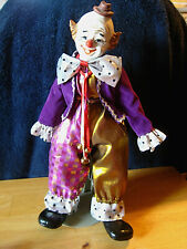 Vintage Porcelain Happy Circus Clown