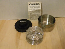 Omega 35mm Stainless Developing Tank and Reel 467-021 - Nice!