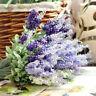 Artificial Lavender Fake Flower Bush Bouquet Home Wedding Party Garden Decor Hot