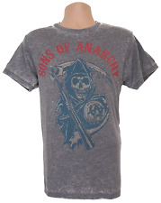 Sons Of Anarchy T-Shirt Mens Medium Blue Reaper