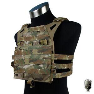 TMC JPC 2.0 Tactical Vest Plate Carrier Maritime Ver MOLLE Body Camo Army