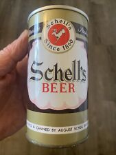 Mint Schell'S Zip Top Beer Can, August Schell Brewing Company, New Ulm, Mn