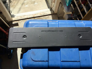 Genuine PORSCHE Panamera 971 Licence Plate Holder Matt black 971807287K