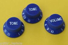Knobs Azules Stratocaster Potenciometro Botones Poti Knopfe Boutons Blue Strat