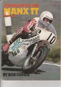 The Glory of the Manx 1907-1975,Bob Currie,Great Colour Photos Motorcycle Racing