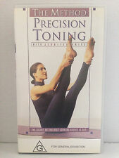 THE METHOD ~ PRECISION TONING with JENNIFER KRIES ~ AS NEW VHS VIDEO