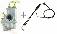 Carburetor & Throttle Cable YAMAHA PW50 Y-ZINGER Dirt Bike PW 50 Carb ATV YF60