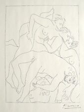 Pablo Picasso 'Metamorphoses d'Ovide-Mort d'Orphee' 1931 Hand Signed Lithograph