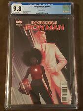 Invincible Iron Man #1 (CGC 9.8) - Jeff Dekal 1:25 Variant - Riri - Sold Out!