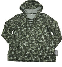 Mens Long Sleeve Hooded Sweatshirt Males Camouflage Slim Fit Tops Plus Size Winter Trench Coat Blouse