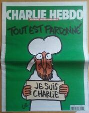 CHARLIE HEBDO N°1178 - French cartoon, humor, satirical magazine - I'm Charlie