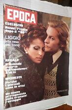 EPOCA 25 Maggio 1974. Articoli: Visconti Mangano Luciano Liggio Mafia Guantanamo