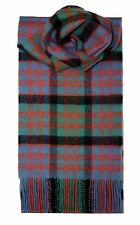 MACDONALD CLAN ANCIENT TARTAN SCARF 100% LAMBSWOOL  by LOCHCARRON
