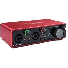 Focusrite Interface Audio USB Scarlett 2i2 Studio 3ème Génération (081530100523…