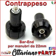 Stabilizzatori Contrappesi Bilancieri Manubrio Moto Universali Nero M408
