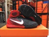 Nike Junior MagistaX Proximo II Soccer Shoes (Black/White/Red) Size: 4-6 Y NEW!