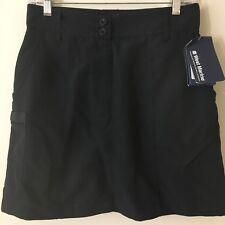 Women's Skort WEST MARINE BLACK Quick Dry SPF 30+ Cargo Adjustable Waist XS