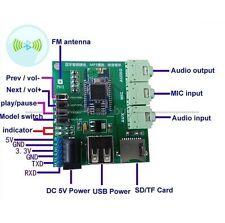 Bluetooth 4.0 Stereo Audio Receiver Board Wireless SD/TF MP3 Player FM Radio MP3