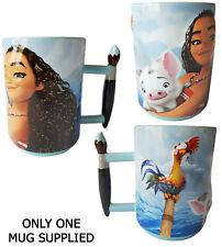 Disney Store Parks Moana Hei Hei Pua Paint Paintbrush Handle Mug Cup Animated