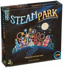 STEAM PARK - Build Your Own Theme Park! Board Game (Iello Games) #NEW