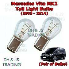 Mercedes Vito Tail Light Bulbs Pair Rear Tail Light Bulb Bulbs Van MK2 (03-14)