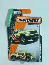 MATCHBOX 2014 #57 FORD F-150 4X4 SVT RAPTOR