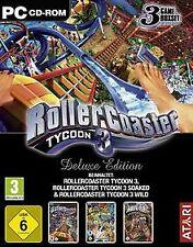 Roller Coaster Tycoon 3 - Deluxe Edition [Softwar... | Game | Zustand akzeptabel