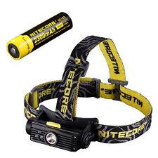 Nitecore HC90 Rechargeable XM-L2 Headlamp w/NL183 Rechargeable 18650 Battery