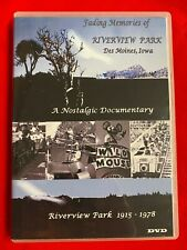 Fading Memories of Riverview Park (DVD) Des Moines Iowa History FREE SHIPPING
