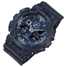CASIO SALE! G SHOCK DUO CRACKED TEX W/TIME 200M BLUE WATCH RRP $269