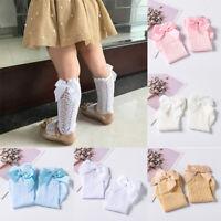 Fashion Baby Girls Socks Autumn Summer Mesh Kids Infant Toddler Knee High Socks