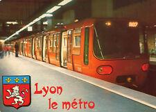 Carte LYON Le Métro en service depuis le 2 Mai 1978