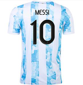 Argentina Jersey 2021 Lionel Messi 10 (S M L XL XXL)