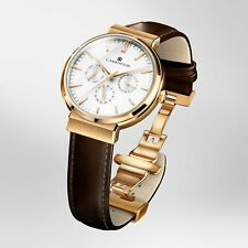 CARRNEGIE WATCHES Luxury Men's Wrist Watch - Classic Rose Gold White