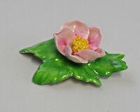 9959614 Porzellan Figur Tischblume Wild- Rose rosa 7x5x3cm