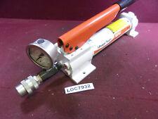 P19 Hydraulic Hand Pump SPX Power Team 10,000 PSI 2 Speed LOC8932