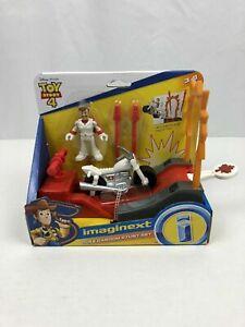 Mattel Imaginext Disney Pixar Toy Story 4 Duke Kaboom Stunt Set Brand New