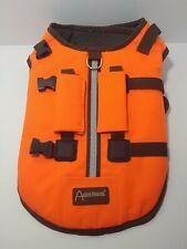 Aussie Naturals Dog Safety Vest/Life Preserver Reflective - Large - Orange