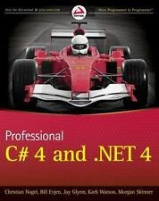 Professional C# 4.0 and .NET 4 by Nagel, Christian, Evjen, Bill, Glynn, Jay, Wa